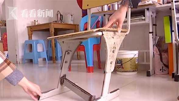 学生凳子坏了竟让家长修 班主任:这是规定