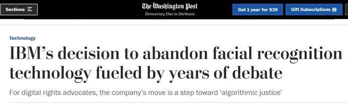 微软、IBM、亚马逊做出了同样惊人的决定